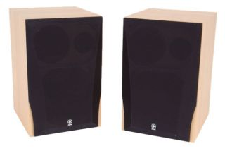 Yamaha NS A738 3 way Bookshelf Speaker System (Refurbished