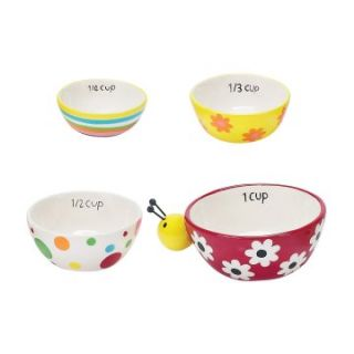Boston Warehouse Ladybug Garden Measuring Cup   Set of 4   Measuring