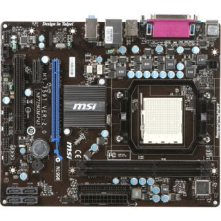 MSI NF725GM P43 Desktop Motherboard   nVIDIA   Socket AM3 PGA 941