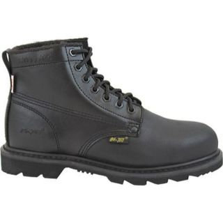 Mens AdTec 1400 Uniform Boots 6in Steel Toe Black