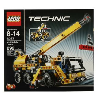 LEGO 8067 Technic Mini Mobile Crane Toy Set