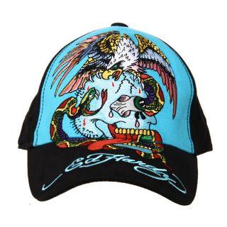 Ed Hardy Boys Snake Print Hat