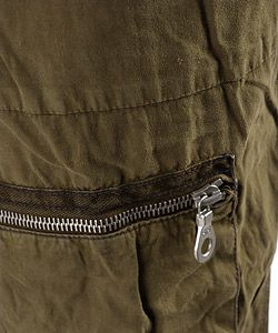 Ever Otsuki Mens Twill Drawstring Cargo Pants