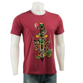 Ed Hardy Mens Dragon Short sleeve Shirt