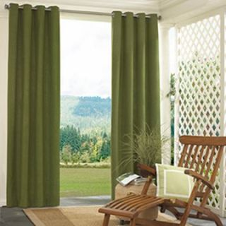 Parasol Sonora Solid Indoor/Outdoor Curtain Panel   Grass   Outdoor