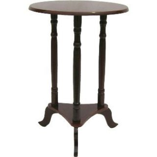 Early American Round Tripod End Table