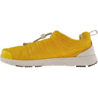 Womens Propet Travel Walker Yellow/White