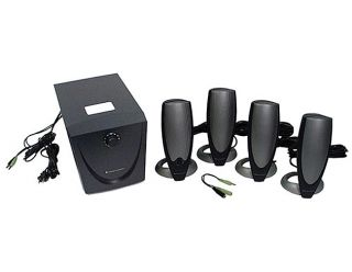 Altec Lansing ADA745 5 pc 4.1 Surround Speaker Set