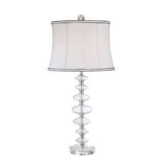 Drops of Dew 1 light Clear Glass Table Lamp