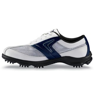 Callaway Mens C Tech Summer White/ Blue Golf Shoes