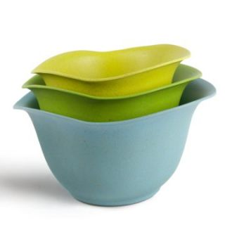 Architec Eco Smart Purelast Mixing Bowl Set   Blue to Green   Mixing