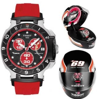 Tissot Mens T Race Moto GP Nicky Hayden Red Swiss Chronograph Watch