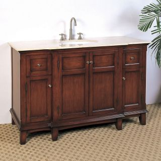 Anna 60 inch Single sink Bathroom Vanity