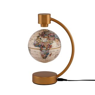 Stellanova 4 inch Levitating Antique Ocean Globe