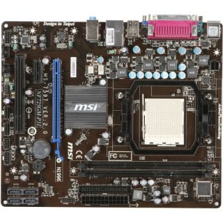 MSI NF725GM P31 Desktop Motherboard   nVIDIA   Socket AM3 PGA 941