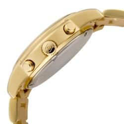 Invicta Womens Angel Yellow Pearlescent Dial 18k Goldplated Watch