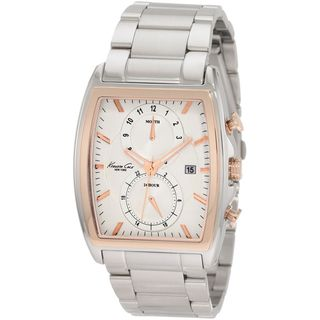 Kenneth Cole New York Mens Two tone Rose Stainless Watch
