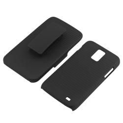 Black Snap on Case/ Holster for Samsung Galaxy S II Skyrocket i727