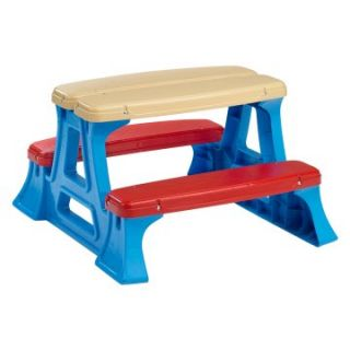American Plastic Toys Picnic Table   Kids Picnic Tables