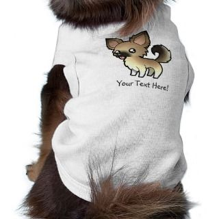 Cartoon Chihuahua (fawn sable long coat) pet clothing by SugarVsSpice