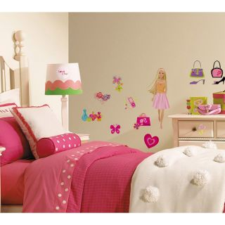RoomMates Barbie Deco Peel and Stick Wall Decals