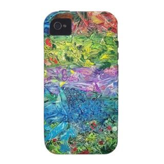 jungle painting on ipod case iPhone 4 case