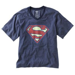 Superman Logo V Neck Tee