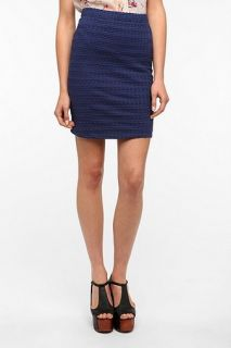 Sparkle & Fade Textured Mini Skirt