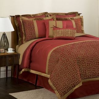 Lush Decor Geometrica Gala 8 pc. Comforter Set