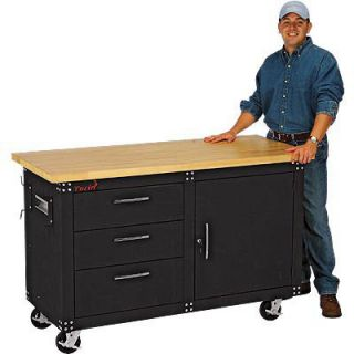 Torin Professional Rolling Workbench   60in., 3000 Lb. Capacity