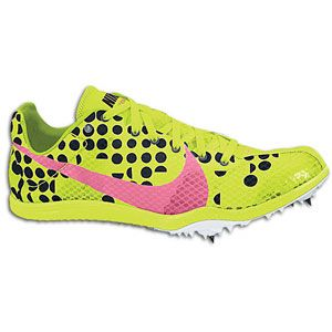 Nike Zoom W4   Womens   Track & Field   Shoes   Volt/Digital Pink
