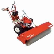 TEQ Power Broom Model 1305 46 Wide Honda Engine Free Shipping