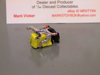 DCP Cat Yellow Diesel Engine for Custom Build 1 64 Diecast Promotions
