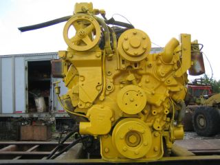 Caterpillar 3208 Diesel Engine 210 HP Runs Good