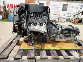 2009 CHEVROLET LY6 6 0 VORTEC ENGINE AND 6L90E 4X4 TRANMISSION LS2 LSX