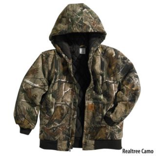 Carhartt Boys Work Camo Active Jacket