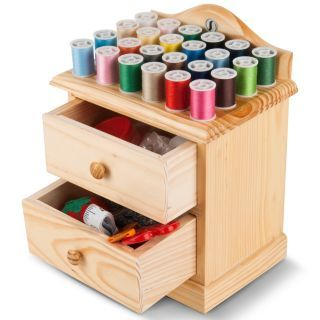 Wooden Sewing Box   read