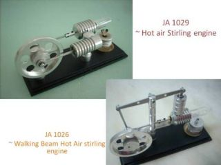 Walking Beam Hot Air Stirling Engine 2 Sets Stirlingmotor Free Shppin