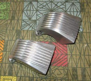 Kart pair of 1960s Azusa megaphone headers for McCulloch kart engine