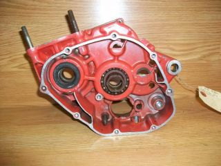 1979 Honda CR125 CR 125 R Left Case Motor Engine Elsinore