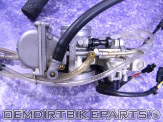 Yamaha YZ250 Keihin Carburetor PWK 38mm Carb 2002 2003 2004