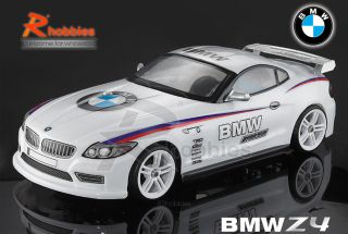 10 BMW Z4 PC Transparent RC R C on Road Racing Drift Car 190mm Body