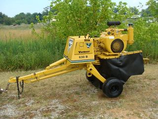 Vermeer 630B Tow Behind Stump Grinder 35HP