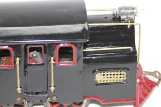 Lionel Pre War Standard Gauge Black Locomotive 33 Repainted