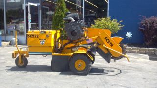 SC 252 Stump Grinder Cutter Kohler Command Pro Comercial Engine