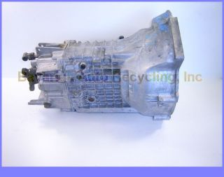Transmission Assembly Standard 5 Speed 1988 BMW 735i E32