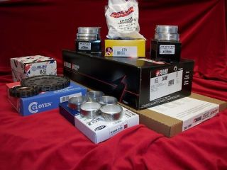 1991 95 Ford Truck 302 5 0 Engine Rebuild Kit Pistons