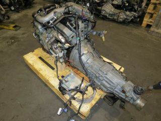 JDM Nissan Skyline GTS r33 RB25DET Engine 5 Speed M T s13 s14 RB20DET
