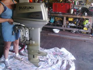 Cheap outboard motors ebay autos weblog for Suzuki 40 hp outboard motor