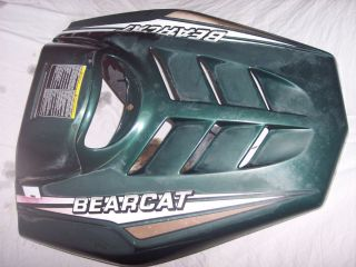 Cat Bearcat Bear Cat 340 440 Snowmobile Motor Engine Cover Hood